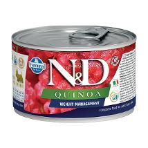 N&D Dog Um Quinoa Weight Management 140Gr