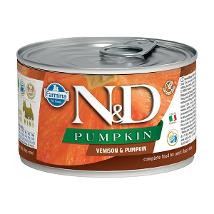 N&D Dog Um Venison & Pumpkin 140Gr