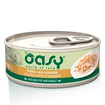 Oasy Cat Um 70Gr Pollo E Ananas Lattina