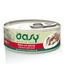 Oasy Cat Um 70Gr Pollo Manzo Lattina