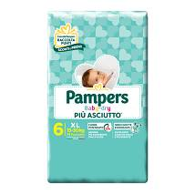 PAMPERS BD DOWNCOUNT XL 14PZ