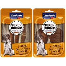 #Super Chomp Sticks 3Pz 90Gr Snack Dog 39573  D Vitakraft